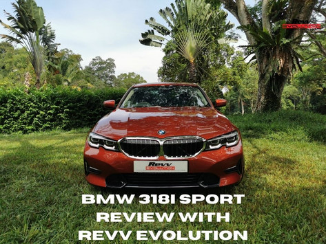 BMW 3 Series, 318i Sport