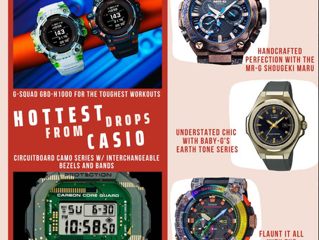 Casio timepieces to add to your Christmas shopping list!!