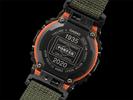 G-SHOCK's 2021 tie-up with Japanese fashion leader, PORTER