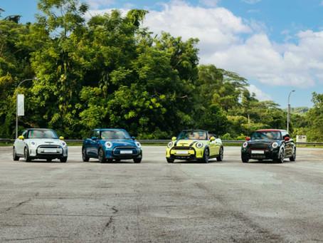 The new MINI range in Singapore