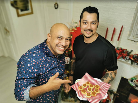 """Christmas food ideas with Gerard and his """"secret"""" Pineapple  Tarts Recipe"""