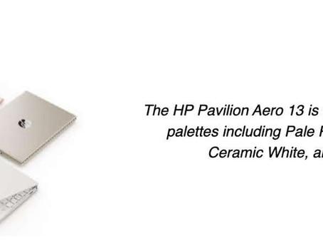 HP Unveils Pavilion Aero – Lightest Consumer Laptop Developed For Gen Zs