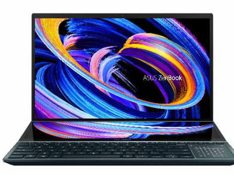 ASUS Announces Availability of the All-New ZenBook Pro Duo 15 OLED (UX582)