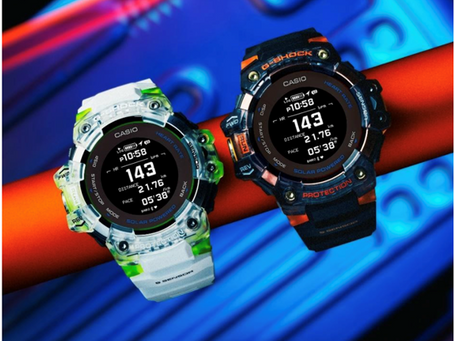 G-SHOCK Introduces new colorways  for the G-Squad watch with heart rate Monitor