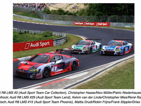 Audi at the biggest motorsport festival of the year