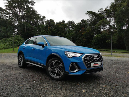 The Audi Q3 Sportsback, Audi's new take on this compact SUV.