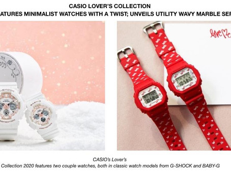 Casio lover's collection 2020 features minimalist watches with a twist; unveils utility Wavy Marble