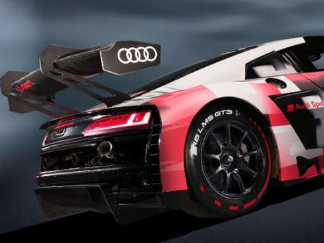 Second evolution of the Audi R8 LMS GT3