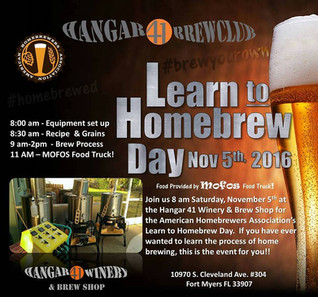 National Learn to Homebrew Day!