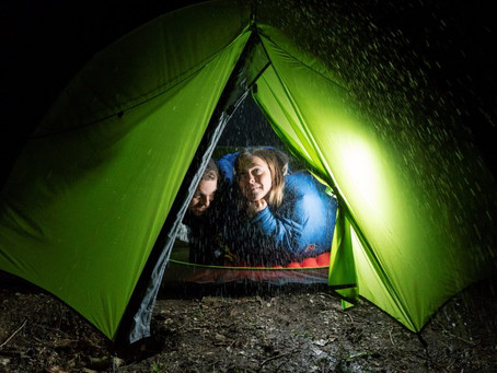 How To Enjoy Camping In The Rain