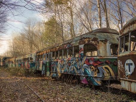 Graffiti Steel Train