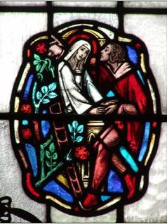 Romeo and Juliet Window, Kenyon College,