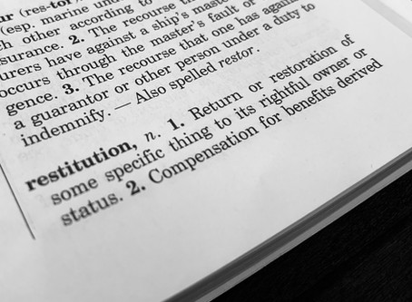 Case Law Update: Limits of Imposing Restitution