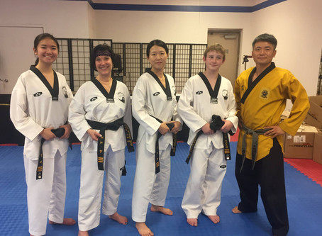 Outside the Law: The Honorable Robbie Barr and Tae Kwon Do