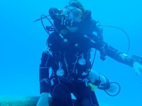 Outside the Law: Giugi Carminati & Scuba Diving