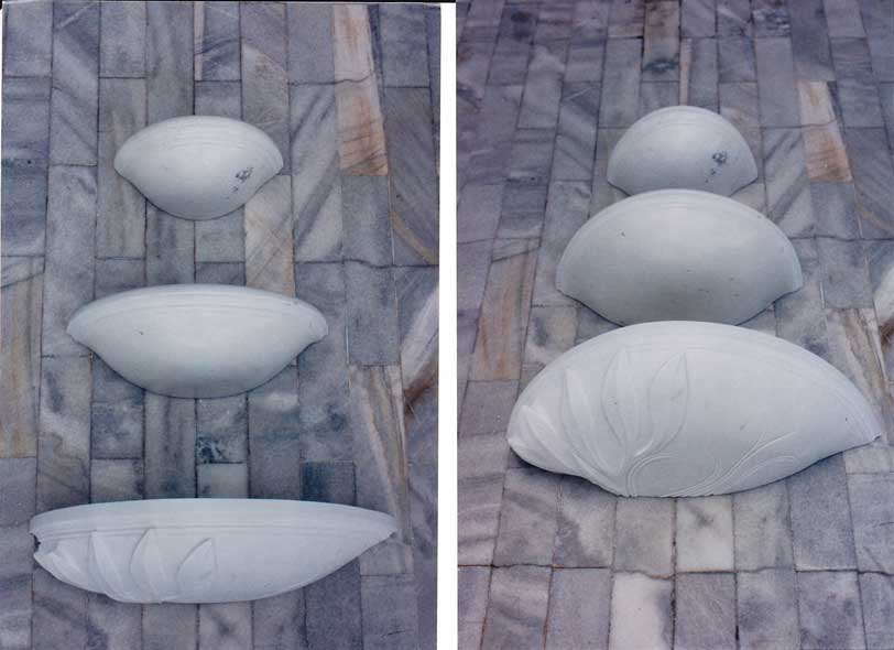 Wall Fountain Plates