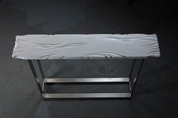 White Marble Tabletop B