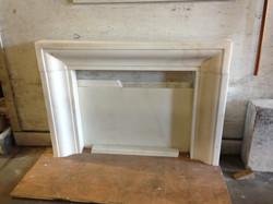 Limestone Fireplace Mantel