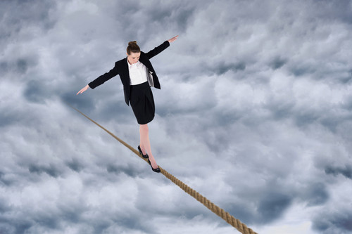 balancing act between deliberate and emergent strategy