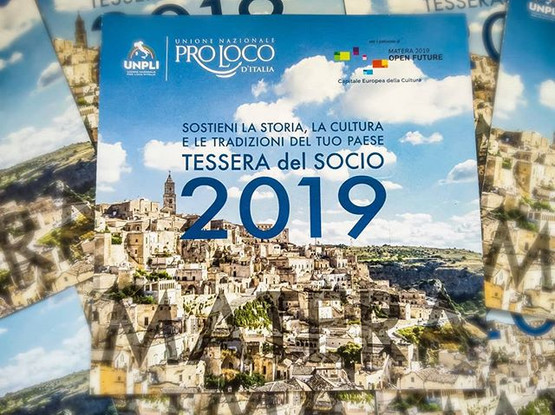 Tessera soci pro loco 2019