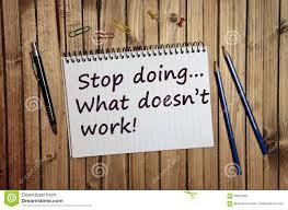 עצירה היא הדרך המהירה ביותר לתוצאות יוצאות דופן!
