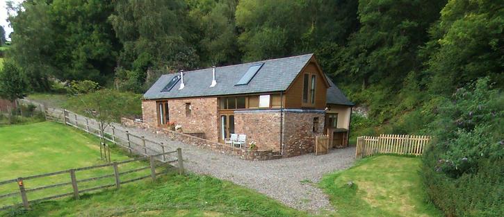Wonham Oak Holiday Cottages on te edge of Exmoor near Bampton