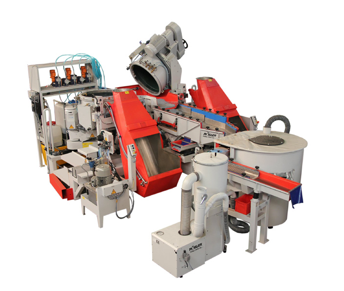Fully automated finishing cell