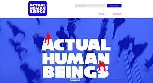 Actual Human Beings