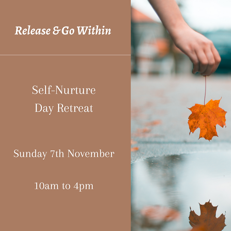 Release & Go Within Retreat Day