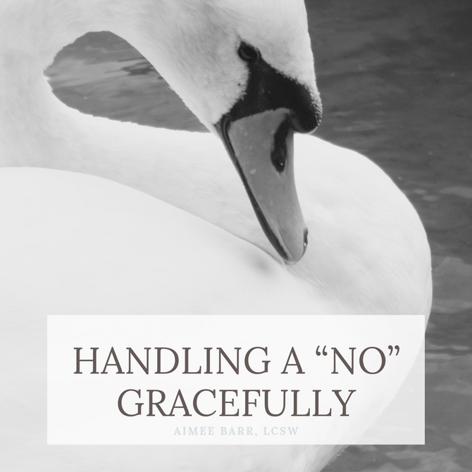 "Handling A ""No"" Gracefully"