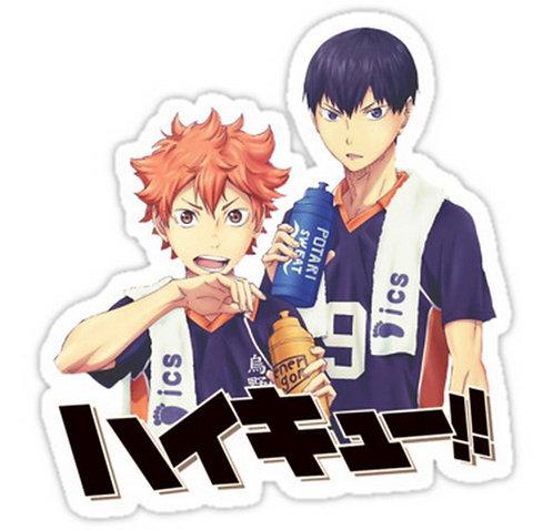 SRBB0078 Anime Haikyuu!! Car Window Decal Sticker anime