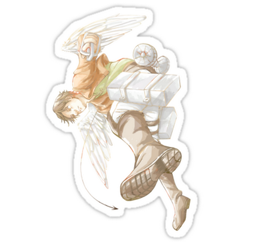 SRBB1661White Silence anime sticker