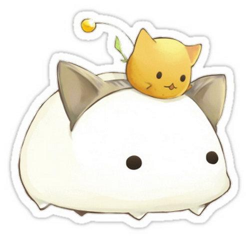 SRBB0115 Anime animals Car Window Decal Sticker anime