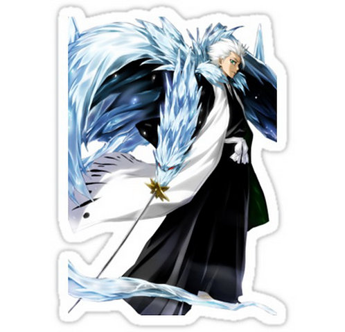 SRBB0461Bleach Histugaya Toshiro anime sticker