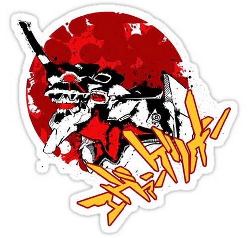 SRBB0444 Berserker! Car Window Decal Sticker anime