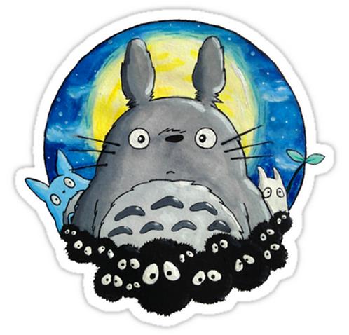SRBB1710My Neighbor Totoro anime sticker