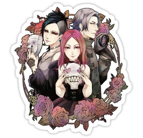 SRBB1068 Tokyo ghoul Car Window Decal Sticker anime