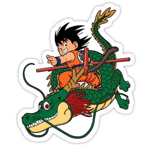 SRBB1705DBZ anime sticker