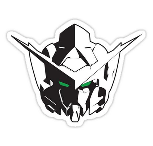 SRBB1574 Exia Car Window Decal Sticker anime