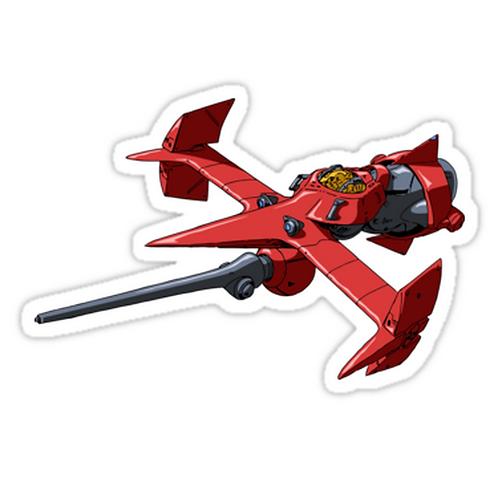 SRBB0778 Swordfish in Space Car Window Decal Sticker anime