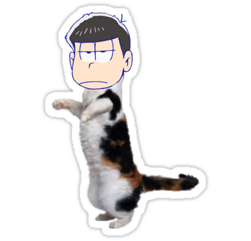 SRBB0934 ichimatsu Car Window Decal Sticker anime