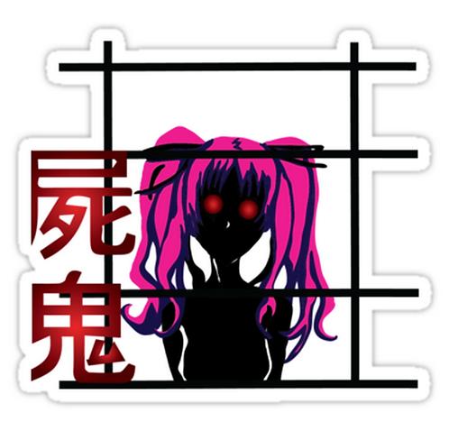 SRBB1285 Megumi Car Window Decal Sticker anime