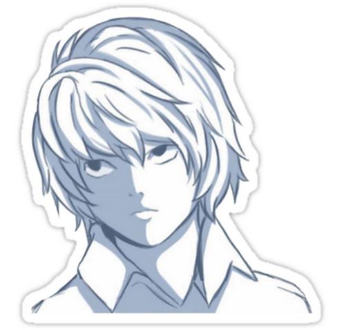 SRBB0870 Death Note Car Window Decal Sticker anime