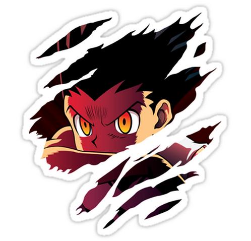 SRBB1012 hunter x hunter gon freecs anime Car Window Decal Sticker