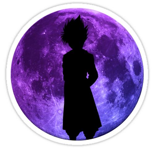 SRBB1252 yu yu hakusho hiei moon anime Car Window Decal Sticker anime