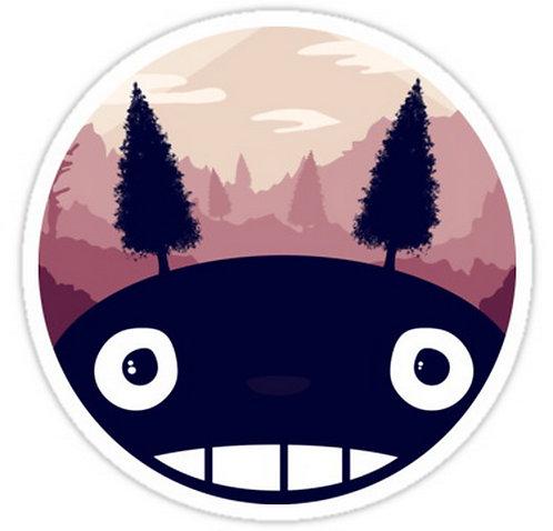 SRBB0179My Neighbour Totoro anime sticker