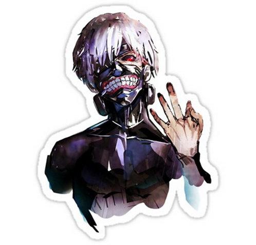 SRBB0359 Kaneki Ken: Tokyo Ghoul Root A Car Window Decal Sticker  anime
