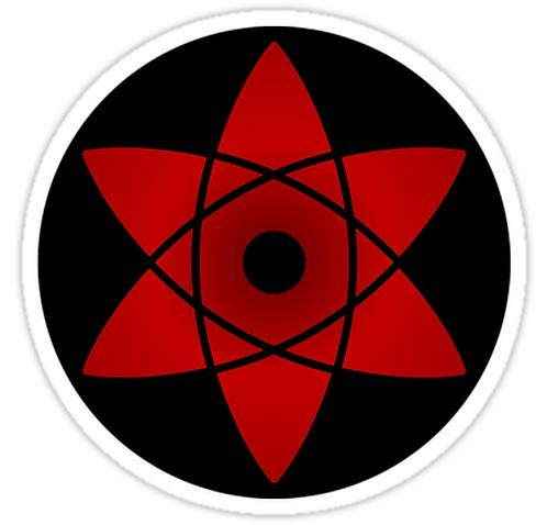 SRBB0902 sharingan sasukee Car Window Decal Sticker anime