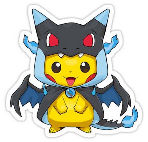 SRBB0327Mega 006 X poncho anime sticker