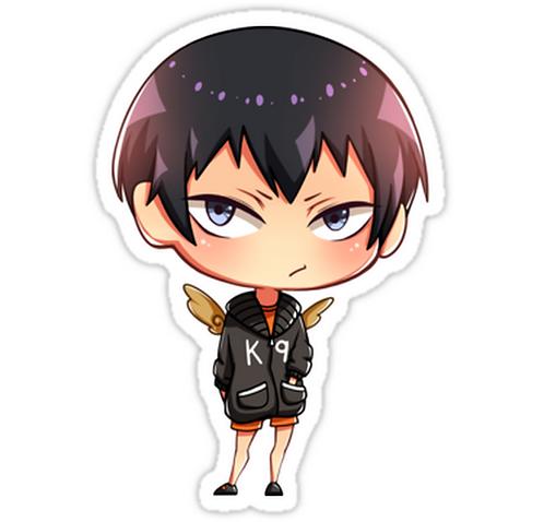 SRBB1093Kageyama Tobio - Haikyuu! anime sticker